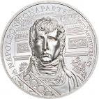 Napoleon Bonaparte 2 Unzen Silber Ultra High Relief