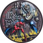 Iron Maiden: the number of the beast 1 Unze Silber