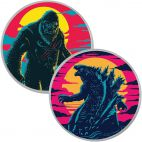 Godzilla vs Kong Farb-Set