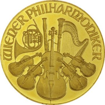 Philharmoniker 1 Unze Gold ATS Prägung