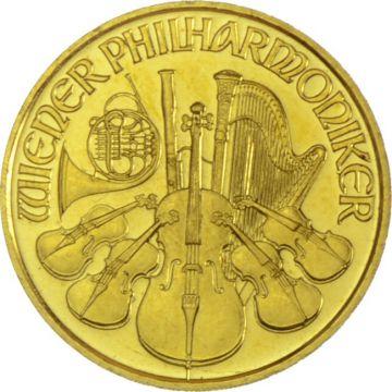 Philharmoniker 1/10 Unze Gold ATS Prägung