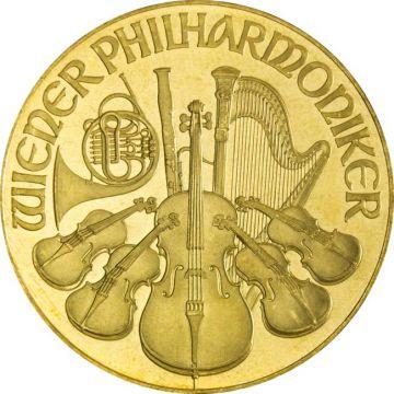 Philharmoniker 1 Unze Gold 1990