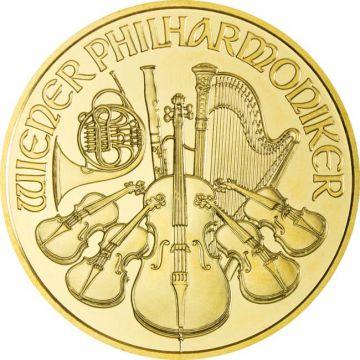 Philharmoniker 1 Unze Gold 2008