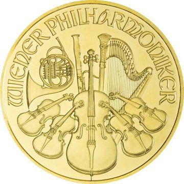 Philharmoniker 1 Unze Gold 2010