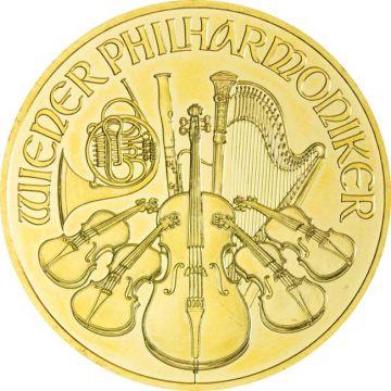 Philharmoniker 1 Unze Gold 2012