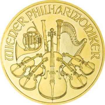 Philharmoniker 1 Unze Gold 2013