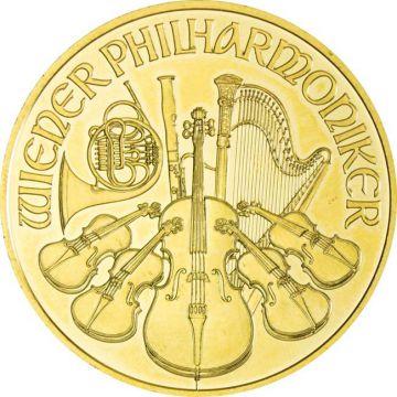 Philharmoniker 1 Unze Gold 2015