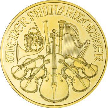 Philharmoniker 1 Unze Gold 2017