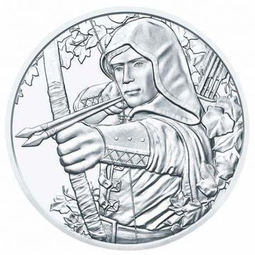 Robin Hood 1 Unze Silber im Blister