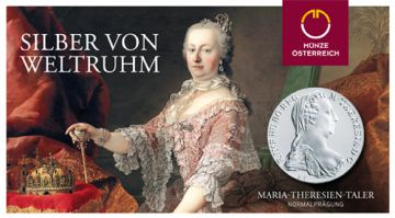 Maria Theresia Taler NP im Blister