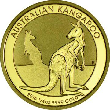 Kangaroo / Nugget 1/4 Unze Gold