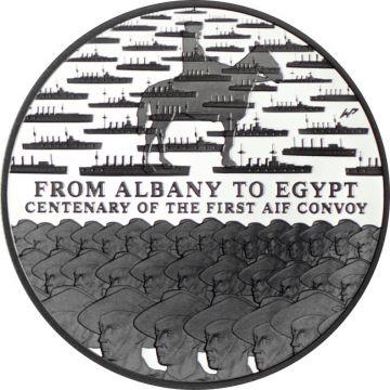 AIF Konvoi von Albany nach Ägypten