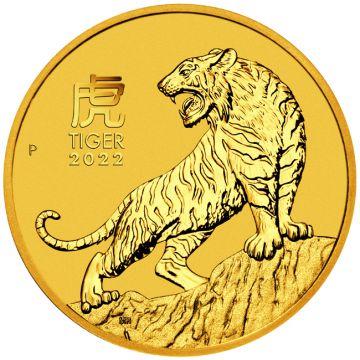 Tiger 1/2 Unze Gold 2022