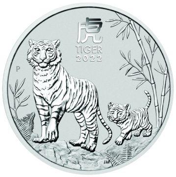 Tiger 1 Unze Silber 2022