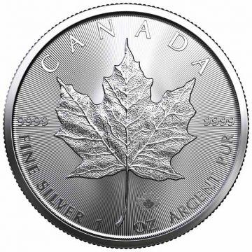 Maple Leaf 1 Unze Silber 2021