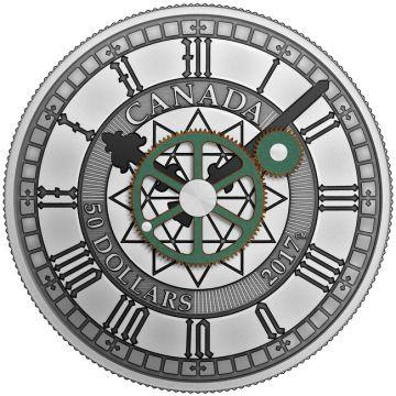 Peace Tower Uhr