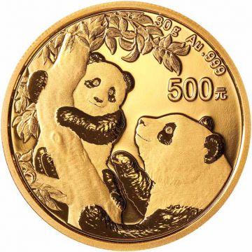Panda 30 g Gold 2021