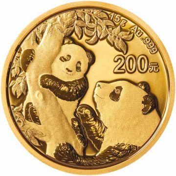 Panda 15 g Gold 2021