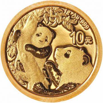 Panda 1 g Gold 2021