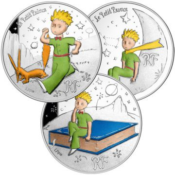 75 Jahre Der Kleine Prinz Silber Set