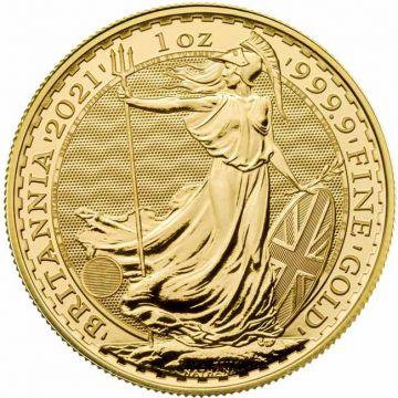 Britannia 1 Unze Gold 2021