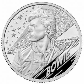David Bowie 2 Unzen Silber