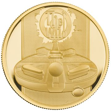 The Who 1 Unze Gold PP
