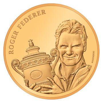 Roger Federer Künstlerzertifikat
