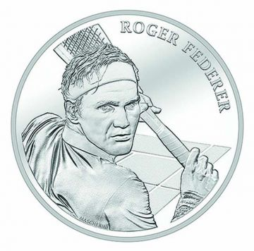 Roger Federer Blister