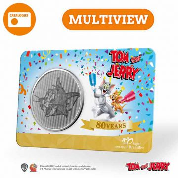 80 Jahre Tom & Jerry - Mini-Medaille