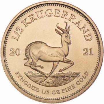 Krugerrand 1/2 Unze Gold 2021