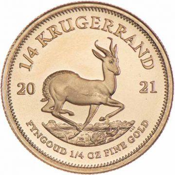 Krugerrand 1/4 Unze Gold 2021