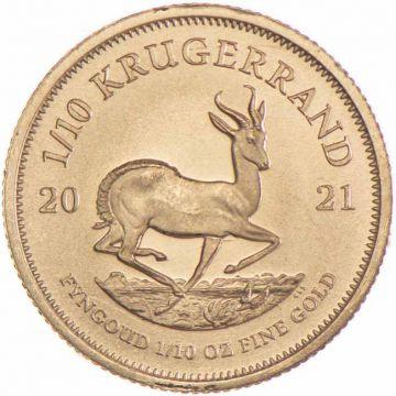 Krugerrand 1/10 Unze Gold 2021