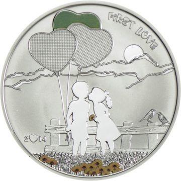 Bemale Deine Münze - Erste Liebe