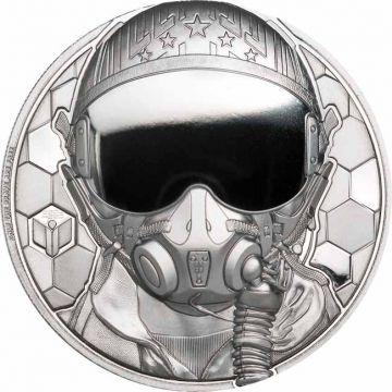 Kampfpilot 1 Unze Platin PP