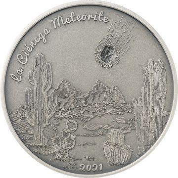 Ciénega Meteorit 1 Unze Silber