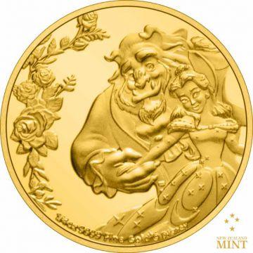 Die Schöne und das Biest 1/4 Unze Gold