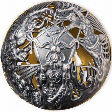 Himmel und Hölle - Weltpremiere! Erste Filigree-Kugelmünze der Welt!