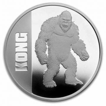 Kong 1 Unze Silber PP