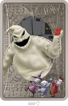 Nightmare Before Christmas - Ooogie Boogie 1 Unze Silber