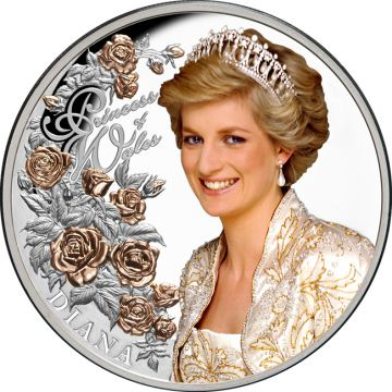 Diana, Prinzessin von Wales 1 Unze Silber