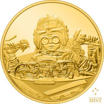 Anakin Skywalker & Der Podracer 1 Unze Gold