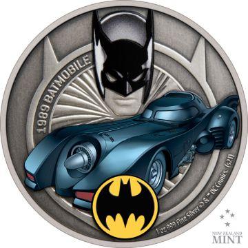 Das Batmobile von 1989 - Zweite Ausgabe der neuen Serie Batmobile