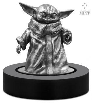 The Child - Grogu Miniatur in Silber
