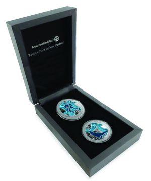Wächter des Ozeans 2 x 1 Unze Silber Set