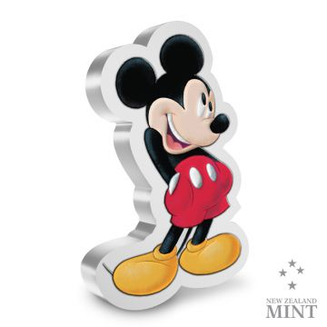 Mickey Mouse 1 Unze Silber