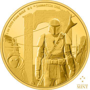 Der Mandalorianer 1 Unze Gold