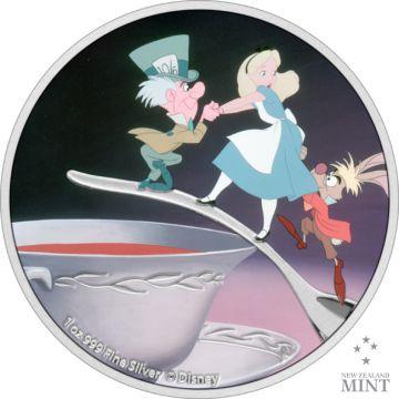 Der Hutmacher aus Alice im Wunderland Silber 1 Unze