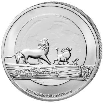 Der König der Löwen - Hakuna Matata 1 Unze Silber
