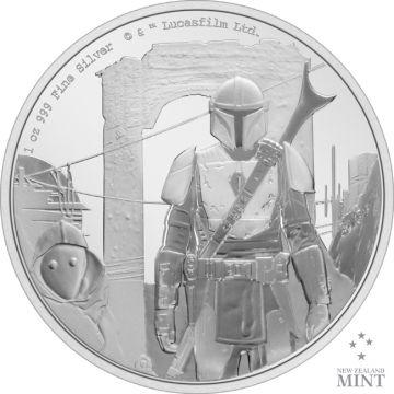 Der Mandalorianer 1 Unze Silber